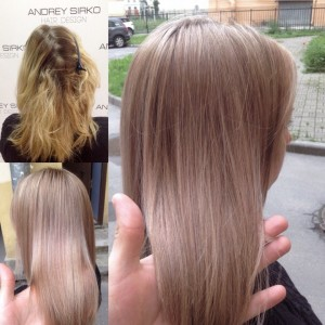 фотогалерея Бежевый блонд