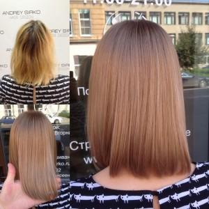 Изменить цвет без потери качества волос