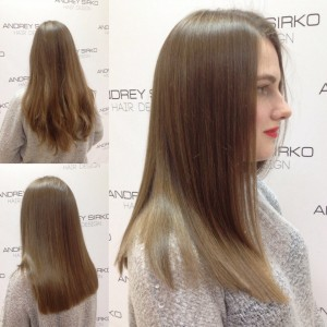 Оптимальная длина для длинных волос - по лопатки