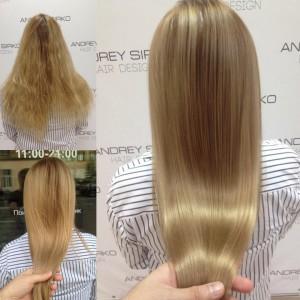 Окрашивание волос в Санкт-Петербурге