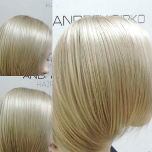 окрашивание блонд,мелирование