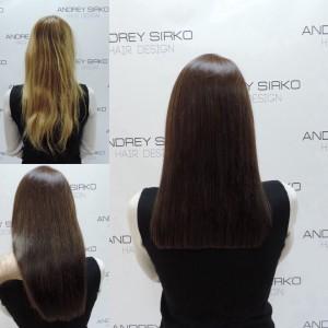 окрашивание волос redken и chemistry