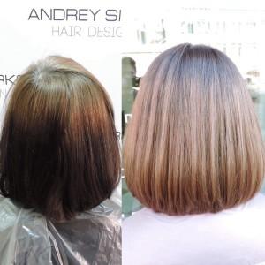 окрашивание волос омбре парикмахерская санкт-петербург