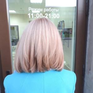 шатушь балаяж омбре осветление волос окрашивание волос салон-красоты санкт-петербург