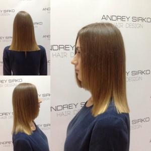 стрижка от ANDREY SIRKO hair design