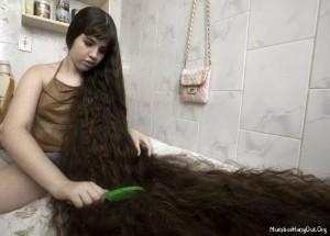 длиные волосы стрижка