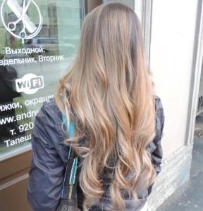 осветление волос в различных техниках рассветление волос, мраморное мелирование, балаяж, шатуш, омбре